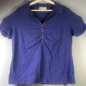 Michael Kora Women 1X Short Sleeve Shirt